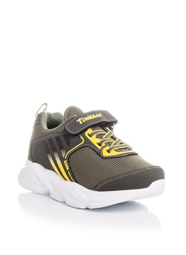 Tonny Black Haki Sarı Çocuk Spor Ayakkabı Tbz05 Haki